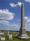 Photo of Abner Powers Obelisk
