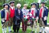 Descendants and SAR Color Guard